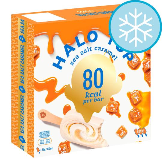 Halo Top Ice Lollies x3 (3 varieties) - £2.50 (Clubcard Price) @ Tesco