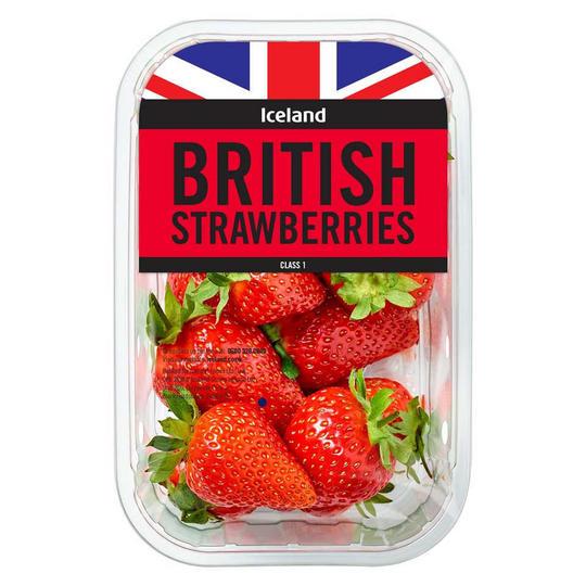 British Strawberries 2 x 400g Packs Are £3 @ Iceland