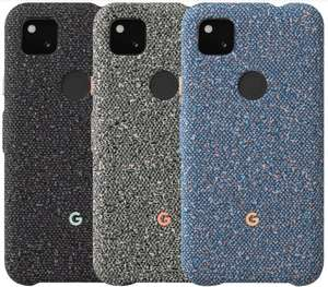 Official Google Pixel 4a fabric case £17.50 at Google Store. Normally £35
