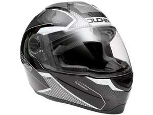 Duchinni D811 Motorcycle Helmet - Gloss, Black/Gunmetal (Medium size only) for £59 delivered @ Halfords