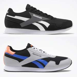 Reebok Royal Classic Jogger 3 Shoes / Trainers (7 colour options) + 3 pack Reebok ankle socks £25.72 delivered using code @ Reebok