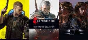 Ultimate RED Collection: CyberPunk 2077 + The Witcher Complete Collection (Witcher 3: Wild Hunt GOTY + more) - £17.41 VPN Req'd @ GOG Russia