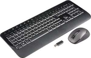Microsoft Wireless Desktop 2000 Keyboard and Mouse - Black - £20.85 delivered @ Amazon