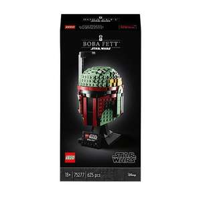 LEGO Star Wars Boba Fett Helmet Building Set 75277 & LEGO Marvel Iron Man Helmet - 76165. £39.97 each @ Asda George (free click and collect)