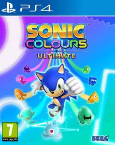 SONIC Colours Ultimate (PS4) £29.42 delivered at GameByte