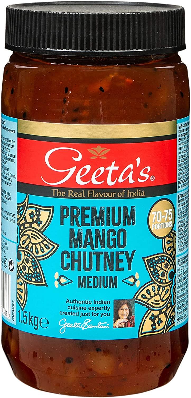 Geeta's Premium Chutney 1500 g - £5.19 (Prime) + £4.49 (non Prime) at Amazon