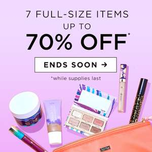 Up to 70% off Tarte Cosmetics Prices from £5 + £3.00 Delivery @ Tarte Cosmetics