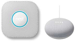Google Nest Protect Battery operated + Google Home Mini Chalk £79 delivered @ BT Shop