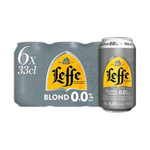 Leffe Blonde 0.0% Alcohol Free Blonde Ale - 24 Cans, 330ml - £17.06 Prime / +£4.49 non Prime @ Amazon