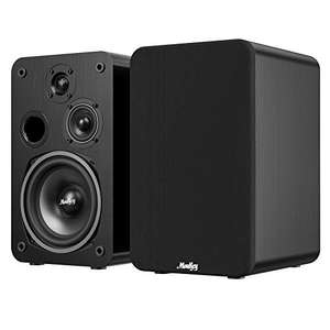 Moukey Passive Bookshelf Speakers £58.78 with voucher - Sold by Moukey Store and Fulfilled by Amazon.