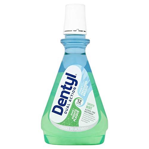 Dentyl Dual Action Smooth Mint CPC Mouthwash, 500ml £1.73 (+£4.49 non-prime) @ Amazon