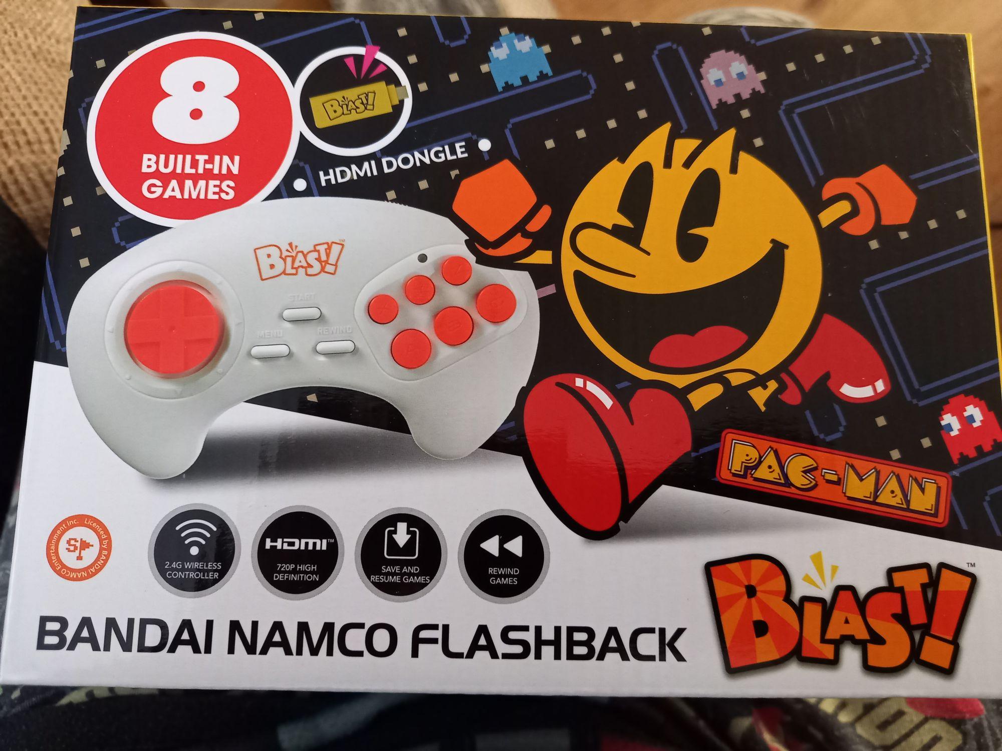 Bandai Namco flashback blast! By atgames - £6.99 in store at Yorkshire Trading (Northallerton)