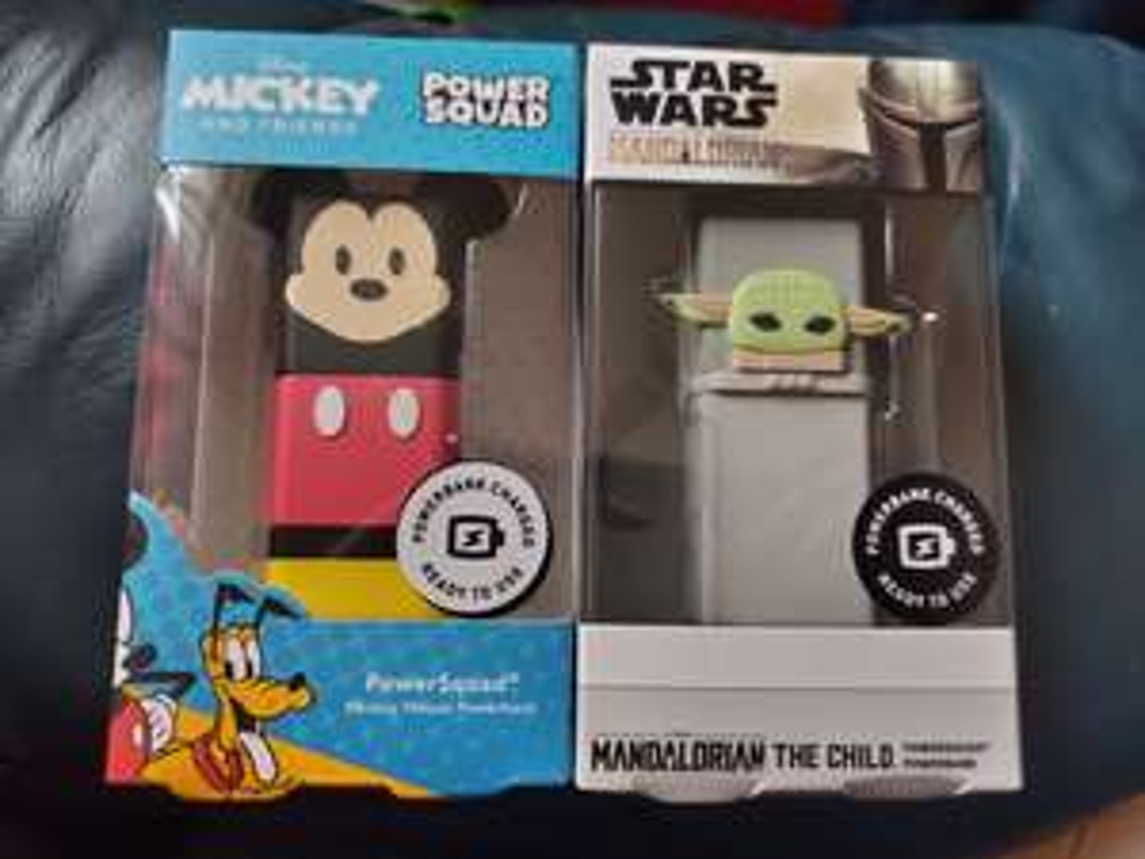 Disney Power Squad Power Banks 5000mAh £3.75 instore @ Asda Gateshead