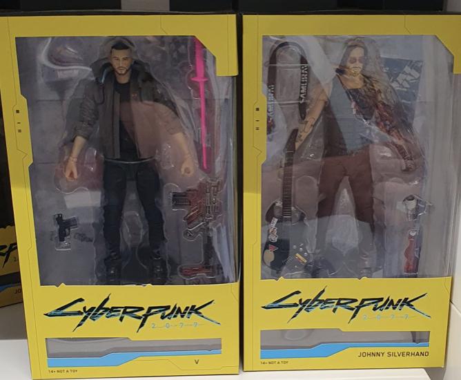 McFarlane Toys Cyberpunk 2077 V Male V & Johnny Silverhand- £10 Instore @ B&M (Andover)