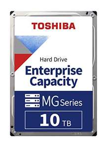 Toshiba 10TB MG Series Enterprise 3.5 Inch SATA Internal Hard Drive, 6 Gbit/s, 7200 RPM, 24/7 Operation, 5 Year Warranty - £228.78 @ Amazon