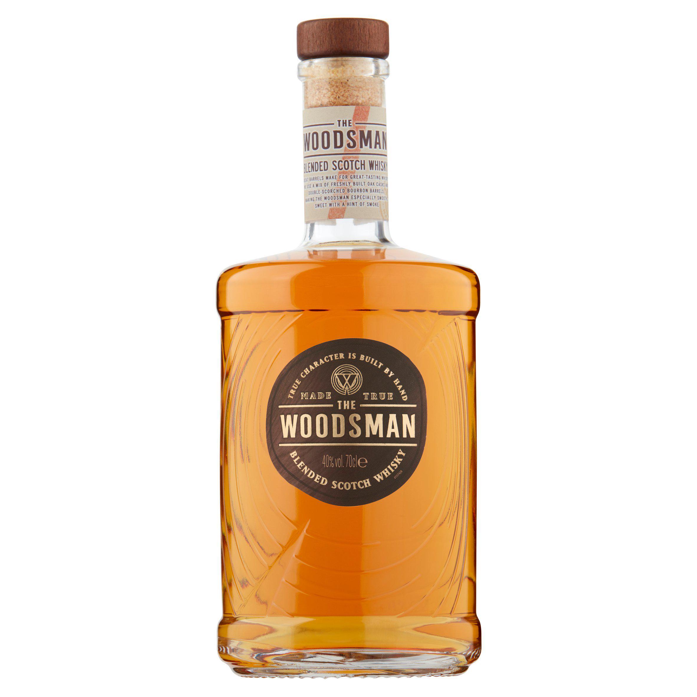 The Woodsman Blended Scotch Whisky 70cl (40% vol) £18 at Asda