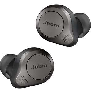 Jabra Elite 85t True Wireless Earbuds Advanced Active Noise Cancellation with Long Battery Life and Powerful Speakers - £174.99 @ Amazon