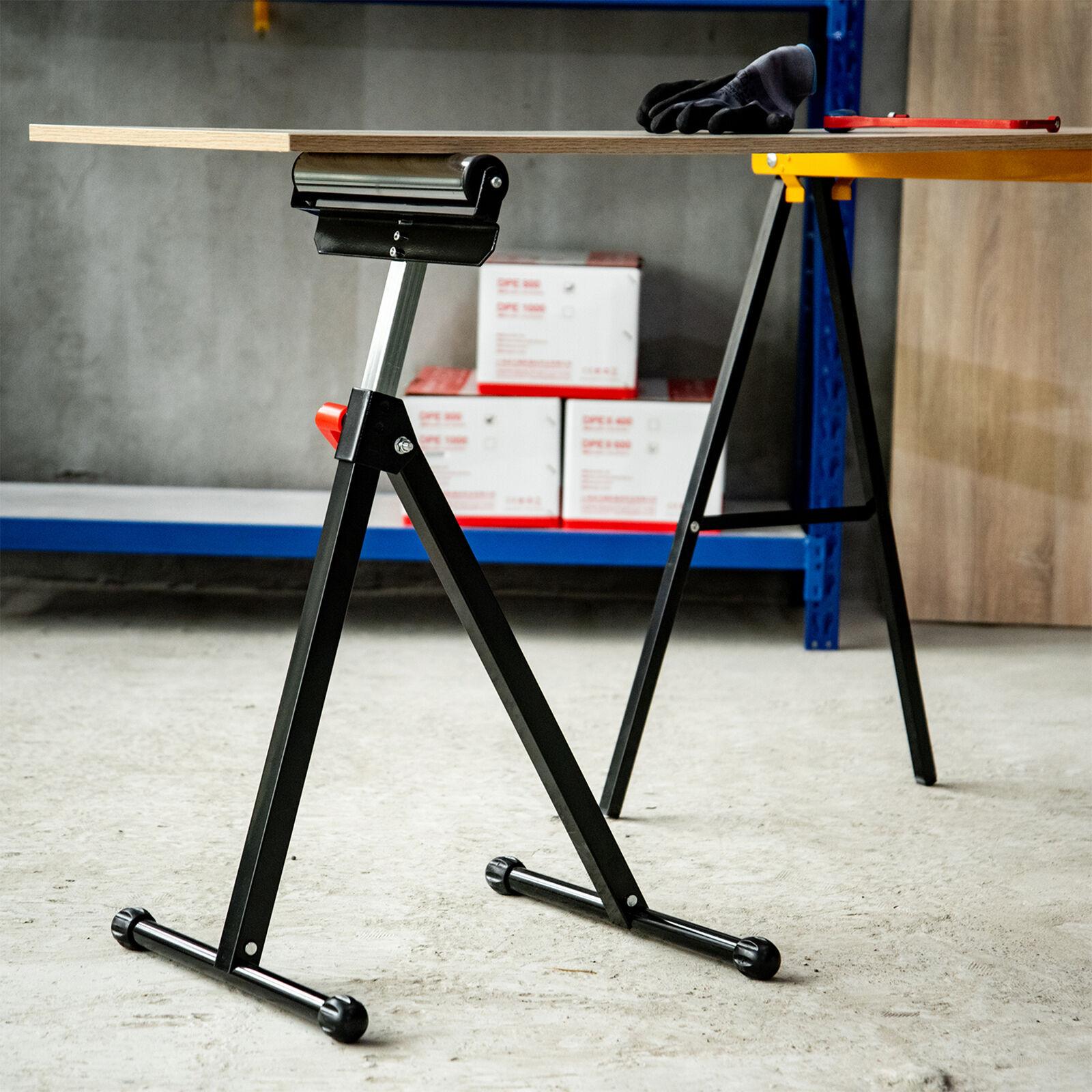 HOMCOM Roller Support Stand Metal Heavy Duty Adjustable Foldable - £21.99 @ 2011homcom / eBay