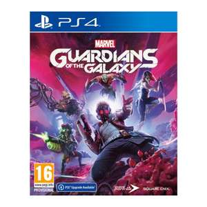 Marvel's Guardians Of The Galaxy PS4 (Free PS5 Upgrade) Preorder - £44.95 @ The Game Collection