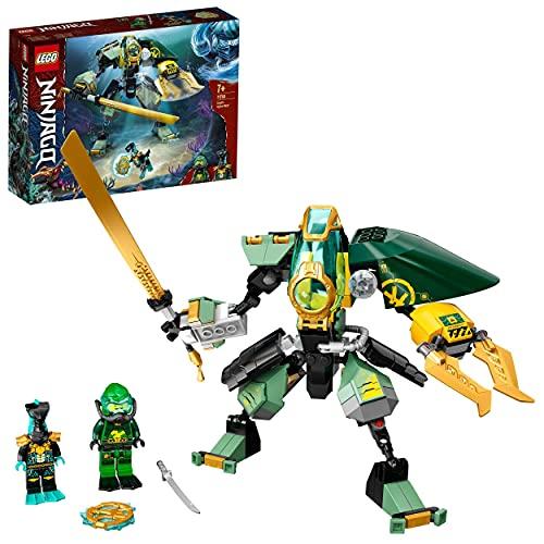 LEGO NINJAGO 71750 Lloyd's Hydro Mech Action Figure Underwater Building Set - £13.31 Prime/+£4.49 NP UK Mainland Sold by Amazon EU @ Amazon