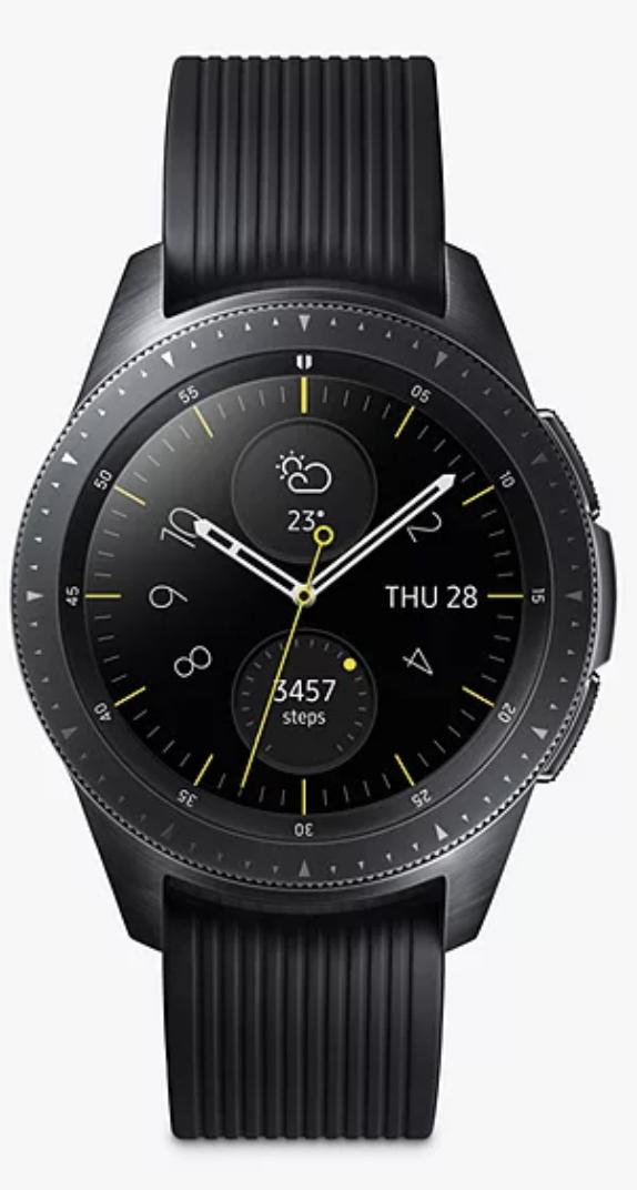 Samsung galaxy watch 42mm black - £159 @ John Lewis & Partners