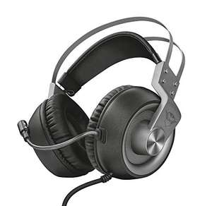 Trust Gaming Headset for PC, PS4, PS5, PlayStation 4/5, Xbox Series X/S GXT 430 Ironn Headset with Microphone, 2m Cable - £26.99 @ Amazon