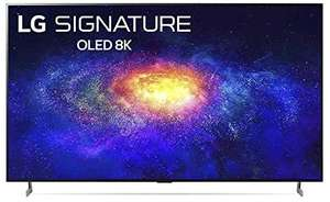 """LG OLED77ZX9LA 77"""" Smart 8K HDR OLED TV with Google Assistant & Amazon Alexa Free 5 Year Guarantee £6999 with code at Hughes"""