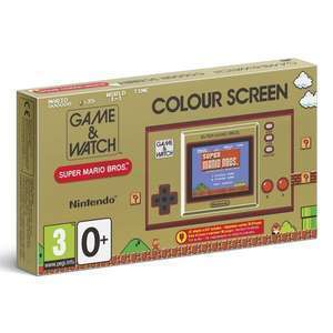 Nintendo Game & Watch: Super Mario Bros £24.99 with code @ Currys PC World