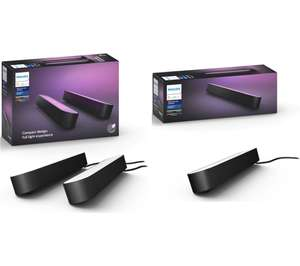 PHILIPS HUE Hue Play Light Bar Twin Pack & Extension Kit Bundle - £119.99 delivered @ Currys PC World