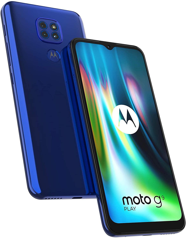 Motorola Moto G9 Play Sim Free Smartphone 64GB 4GB RAM Triple Camera 48MP Dual Sim 5000mAH Android 10 - £102.16 (UK Mainland) @ Amazon Spain