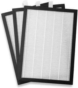 Meaco HEPA Filter for 20 Litre Low Energy Dehumidifier White/Black pack of 3 £12.97 (+£4.49 nonPrime) at Amazon
