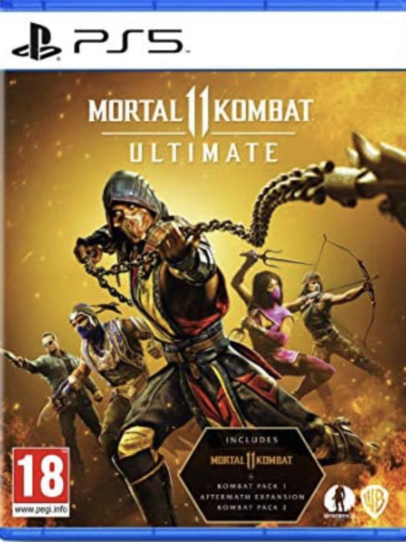 Ultimate Mortal Kombat 11 PS5 - £19 Prime / +£2.99 non Prime @ Amazon