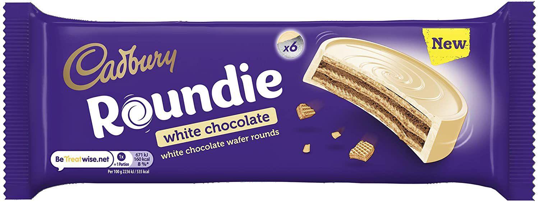 Cadbury Roundie White Chocolate Biscuits 180g. £1.25 (£4.49 p&p non prime) @ Amazon