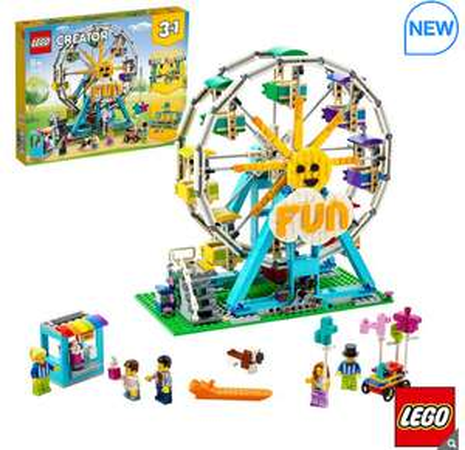 Lego Creator 31119 3 in 1 Wheel £66.99 (Membership Required) @ Costco
