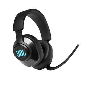 JBL Quantum 400 Wired Over-Ear Gaming Headset with Microphone and RGB, PC and Console Compatible, in Black £36.99 @ Amazon