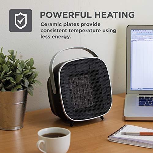BLACK+DECKER BXSH37009GB Ceramic Heater, 7 Hour Timer, 1.5 KW £18.11 (Prime) + £4.49 (non Prime) at Amazon