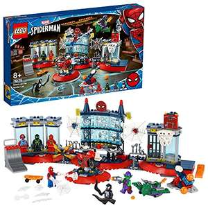 LEGO Marvel 76175 Spider-Man Attack on the Spider Lair Building Set with Green Goblin and Venom Figure, Super Heroes Toy £51.99 @ Amazon