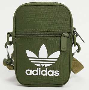 Adidas originals trefoil festival bag - available in khaki, blue and orange - £5.91 + £4 Delivery with code @ ASOS