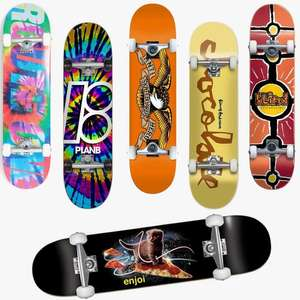 Free Next Day Delivery on £30+ Spends (Includes Sale) - EG: Complete Skateboards From £44.95 - £64.95 Delivered (UK Mainland) - @ Route One