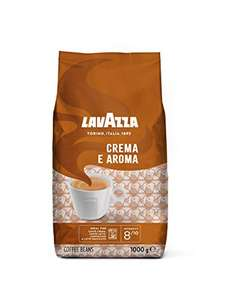 Lavazza Crema e Aroma, Arabica and Robusta Medium Roast Coffee Beans, Pack of 1 kg £9.49 @ Amazon Sold By JAMBO SUPPLIES