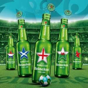 Free Heineken UEFA euro 2020 football and pump with purchase of 20x250ml £12.00 or 12x330ml £7 at Asda Oldham
