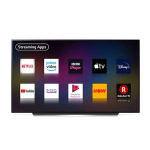 LG OLED55CX5LB 55 inch OLED 4K Ultra HD HDR Smart TV Freeview Freesat HD £1,095 at Richer Sounds