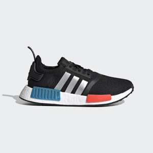 NMD_R1 SHOES Kids Core Black / Silver Metallic / Solar Red £33 at Adidas Shop