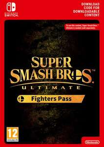 Super Smash Bros. Ultimate Fighter Pass 1 The Fighters Pass Nintendo Switch £16.49 at CDKeys