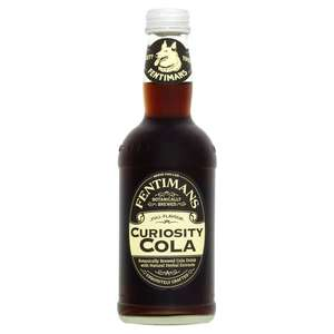 Fentimans curiosity cola 29p a small bottle in Home Bargains Snipe store north west