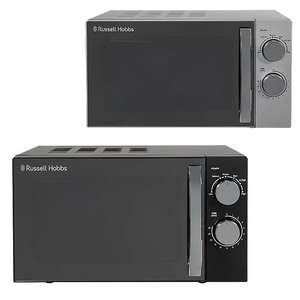 Russell Hobbs RHM1721BC (Black) or RHM1721SC (Silver) 17L Microwave - £45 (free click & collect) @ George
