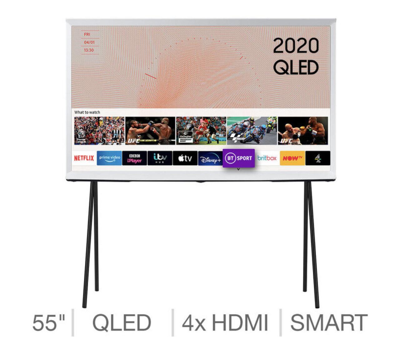 Samsung QE55LS01TAUXXU, The Serif, 55 Inch QLED 4K Ultra HD Smart TV - 5 Years Warranty £719.99 (Membership Required) @ Costco