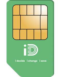 12GB 5G data/unlimited calls and text SIMO deal- ID Mobile £12 p/m 12 months £144 (effective £3.25 a month after cashback) @ Mobiles.co.uk