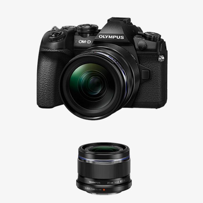 Olympus E‑M1 Mark II 1240 Camera Kit + M.Zuiko Digital 25mm F1.8 Lens - £1100 Using Code @ Olympus
