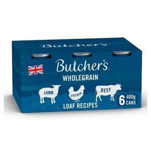 Butchers wholegrain loaf recipes 6x390g cans £2.40 at Asda Abbey lane Leicester